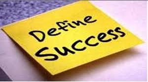 How do you define success-Anthony Ally